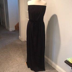 Old Navy strapless maxi cotton elastic waist